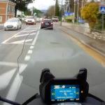 Indicateur de direction sur le tableau de bord directement : moto et scooter BMW