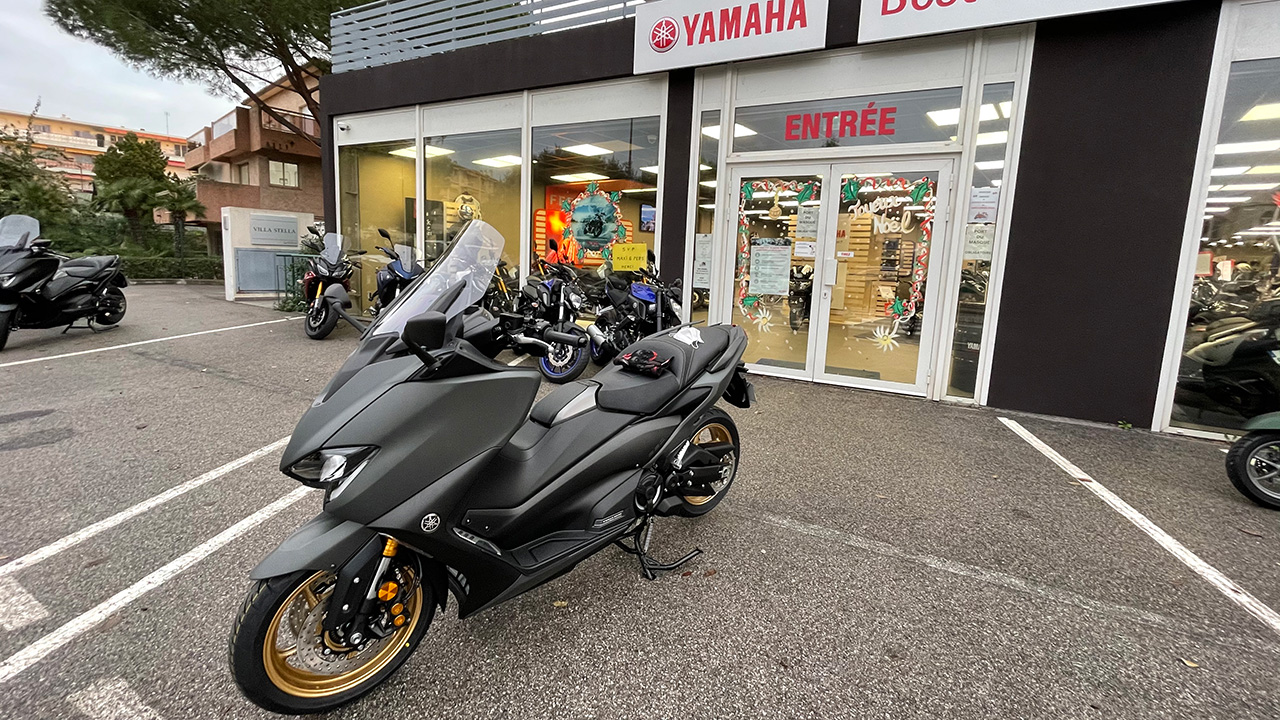 Acheter un Tmax chez Best Of Bike (Concession moto Yamaha à Antibes)