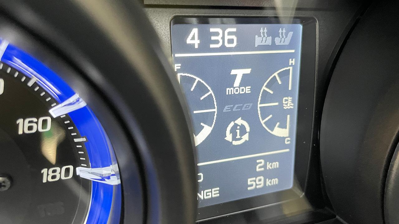 2km au tableau de bord du Tmax 560 Tech Max de David Jazt