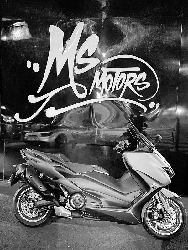 MS Motors à Cannes avec mon TMax 560 Tech Max