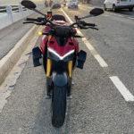 V4 Streetfighter Ducati vue avant