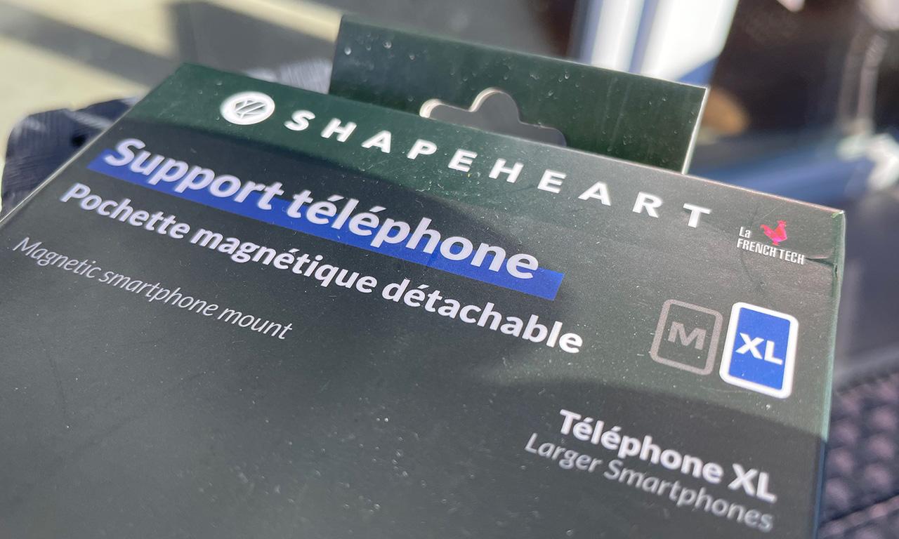 Shapeheart : le spécialiste du support de telephone moto et scooter ou vélo