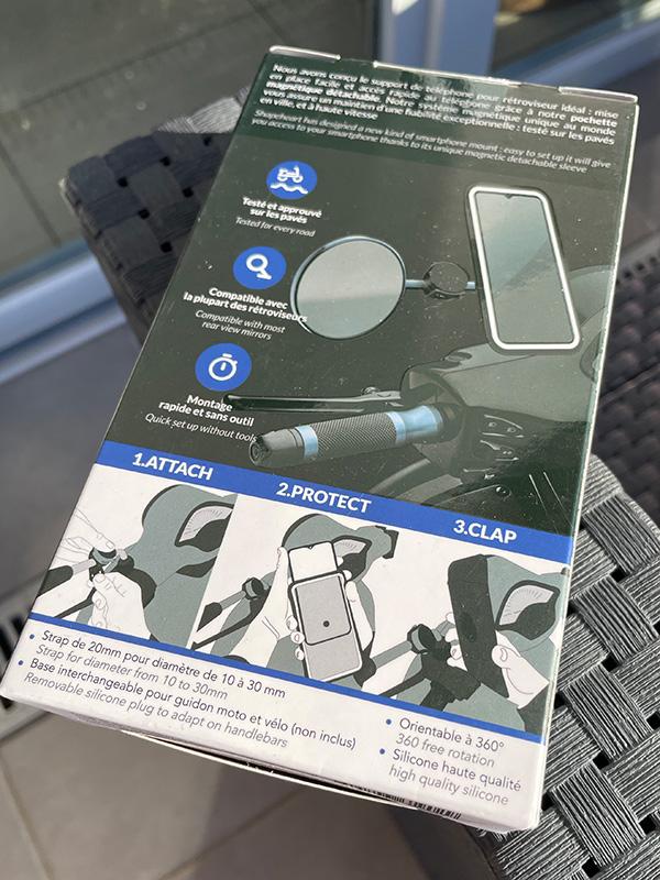 Support telephone écran tactile et universel