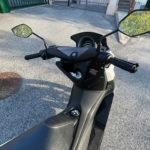 au guidon du nMax Yamaha 125cc