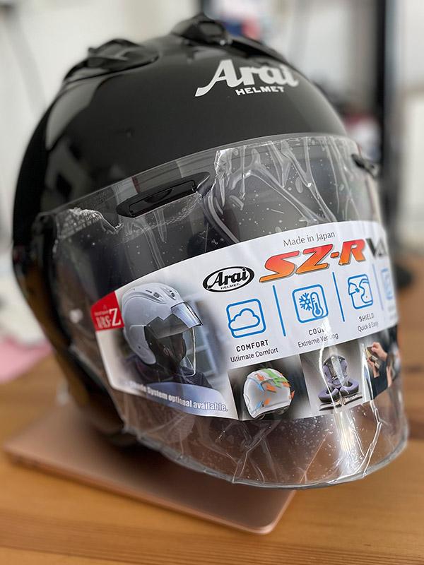 casque de moto Arai Jet SZ R VAS
