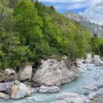 lit de la rivière de Roya