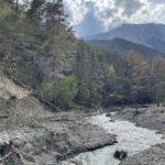 Magnifique paysage à la Vallée de Roya