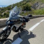 Ducati Nice : Multistrada V4 S sur la moyenne Corniche