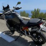 Ducati Nice : Multistrada V4S sur la moyenne Corniche