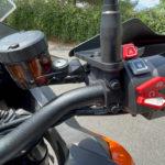 nouveau comodo KTM (droite)