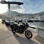 David Jazt à Monaco en Tracer 9GT, sur le port de plaisance